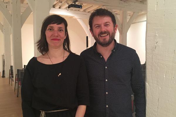 Lise Baron et Julien Bossé, co-réalisateurs du documentaire