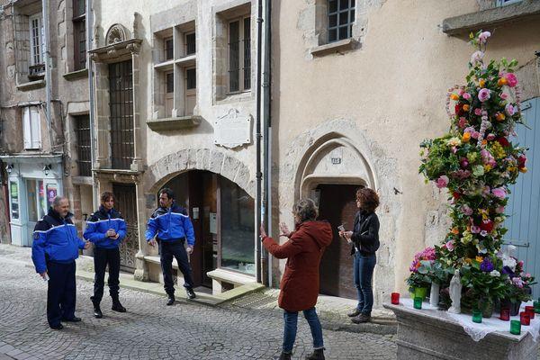 Tournage de Meurtre en Corrèze dans les rues de Tulle