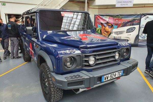 L'Ineos Grenadier, le 4x4 thermique qui sera fabriqué à Hambach à la place de la Smart EQ.
