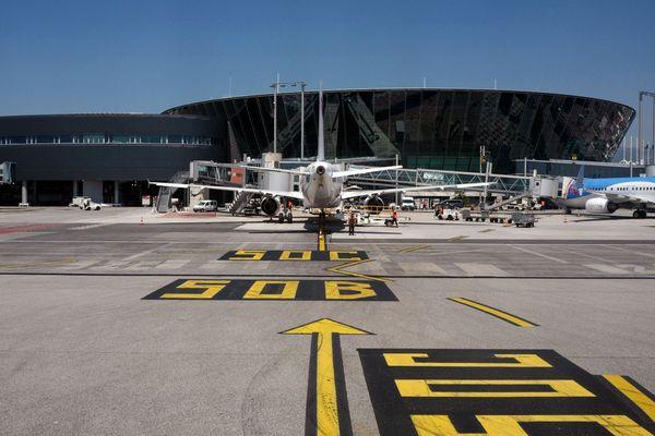 Les rotations se font très rares à l'aéroport de Nice en raison de la pandémie de coronavirus