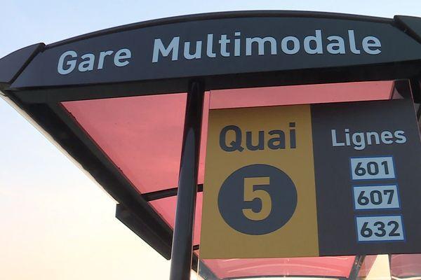 Le Pôle d'échange multimodal de la gare de Lunel est le résultat de quatre ans de travaux.