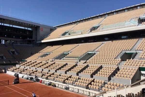 Les qualifications pour le tournoi de Roland-Garros se jouent à huis clos cette année en raison du covid-19