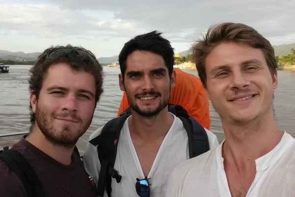 De gauche à droite : Gauthier, Antoine et Michal.