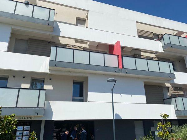 L'immeuble de Tristan, route de Launaguet à Toulouse.