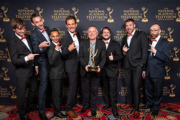L'équipe de Golaem a reçu un Technology and Engineering Emmy® Award lors de la 70ème cérémonie des Annual Technology & Engineering Emmy® Awards à Las Vegas