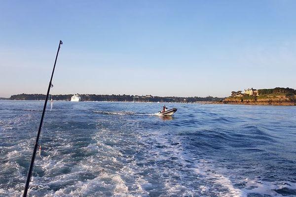 Une belle partie de pêche sur l'estuaire de la Rance