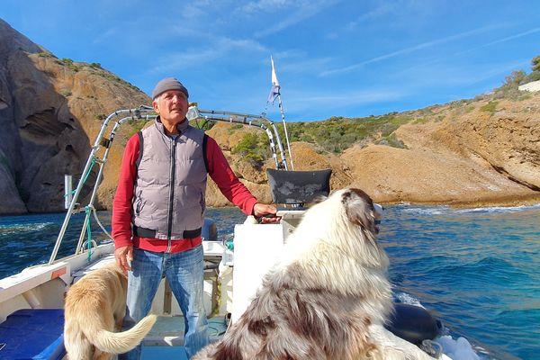 Gérard Carrodano, 1er prud'hommes Cassis, pêcheur lanceur d'alerte