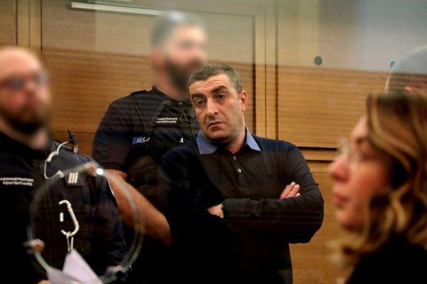 10/12/2019 - Kakhaber Shushanashvili, considéré comme l'un des dirigeants des «vory v zakone», une puissante mafia d'Europe de l'Est.