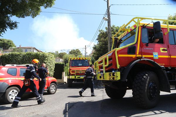 Un feu en ville sous mistral, c'est toujours sérieux