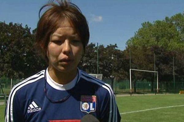 Saki Kumagai, Défenseure centrale de l'OL