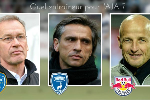 Jean-Marc Furlan, Régis Brouard et Peter Zeidler : 3 pistes pour succéder à Jean-Luc Vannuchi en tant qu'entraîneur de l'AJ Auxerre.