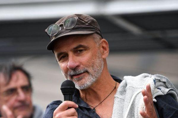 Pierre Mumber lors de l'audience en appel le 24 octobre 2018 à Grenoble.