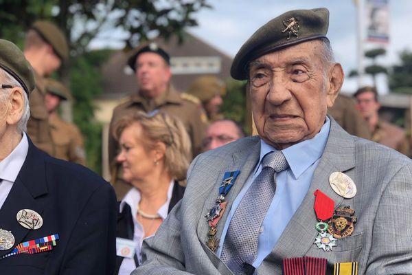 Jorge Sanjinez, vétéran de 102 ans, revient en Normandie