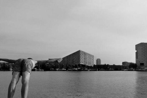 BAIGNADE À AMSTERDAM EN 2012