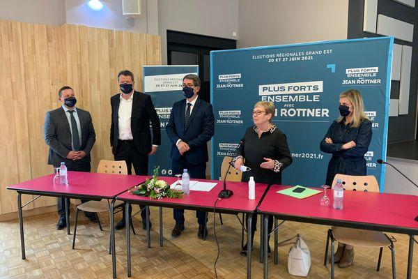 Première journée de campagne dans le Lunévillois pour le candidat Jean Rottner
