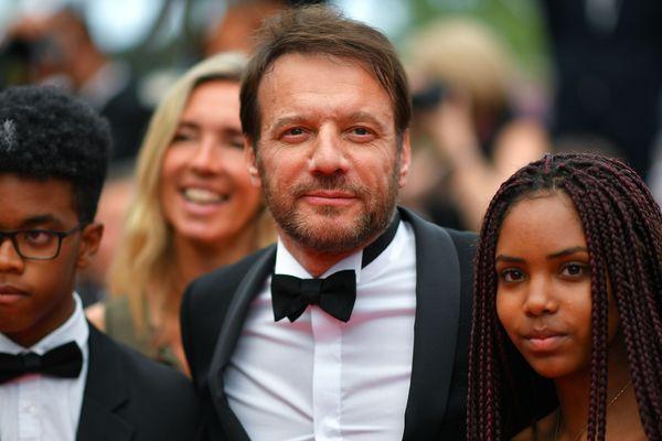 L'acteur Samuel Le Bihan au festival de Cannes l'année dernière. Il incarne le rôle principal d'Alex Hugo dans la série du même nom.