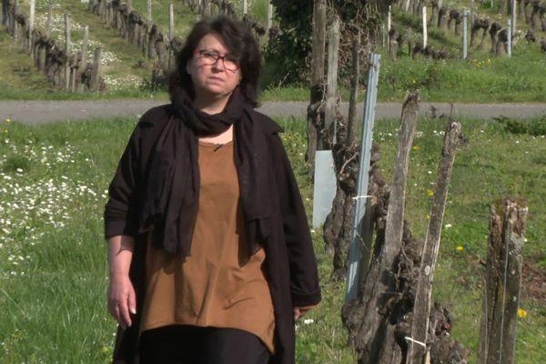 Nathalie Feydieu, viticultrice dans le Blayais