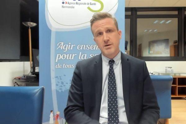 Thomas Deroche, directeur général de l'agence régionale de santé de Normandie