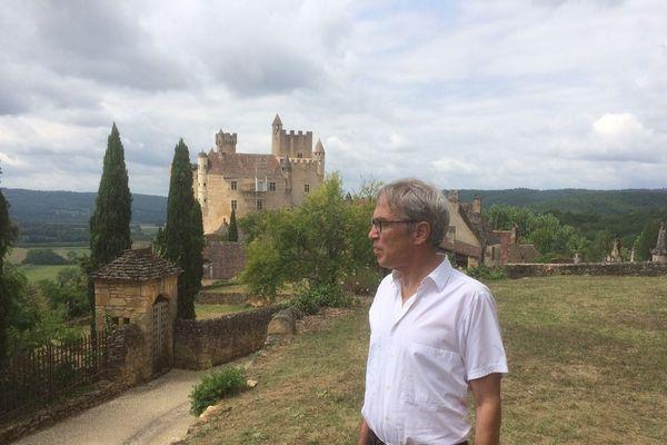 Kléber Rossillon, propriétaire et promoteur de sites et châteaux ouverts au public