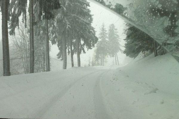 Il est tombé jusqu'à 50 cm de neige dans le Vercors.