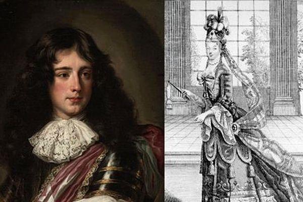Philippe de Vendôme et Françoise Moreau