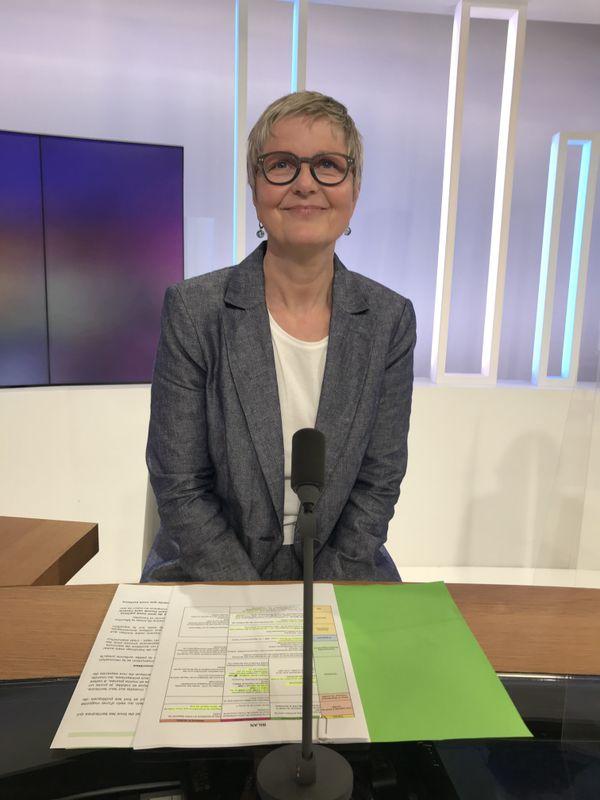 Valérie Beausert-Leick (PS) a succédé à Mathieu Klein à la tête du conseil départemental de Meurthe-et-Moselle en 2020.