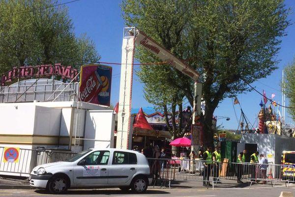 Foire des Rameaux, Grenoble.