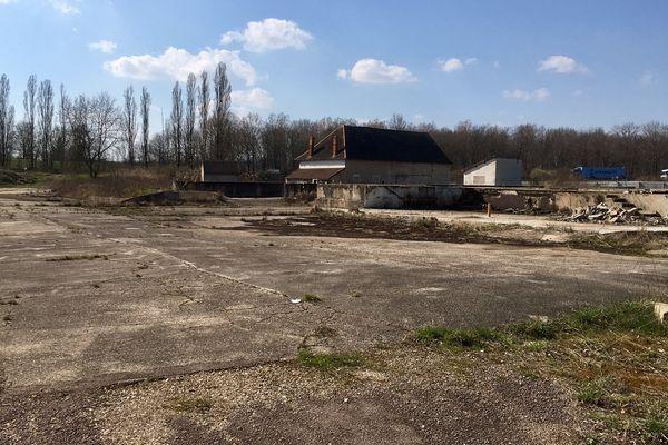 Le site de Thémeroil (Varennes-le-Grand), friche industrielle polluée