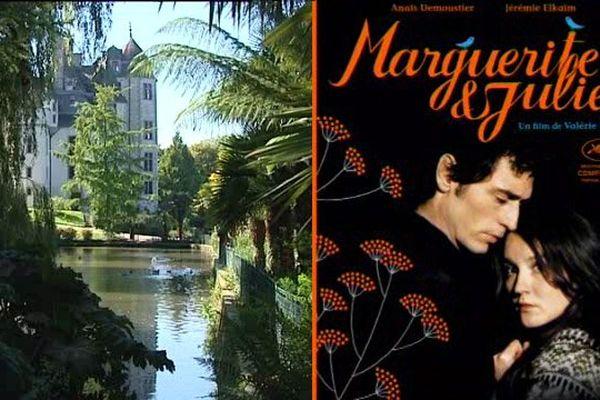 """Le film """"Marguerite et Julien"""" a été tourné à l'automne 2014 au château de Tourlaville"""