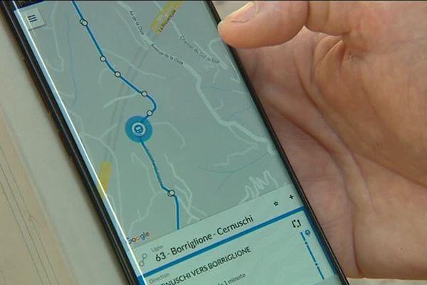 Une application pratique pour suivre le trajet de son bus en temps réel.