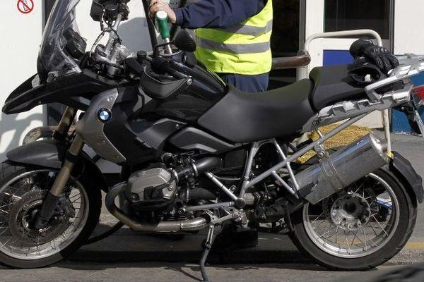 Les modèles BMW GS 1200 étaient particulièrement ciblés