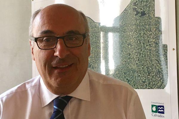 Jean Léonce Dupont Président du Conseil départemental du Calvados