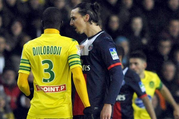 Et revoilà Zlatan Ibrahimovic pour la rencontre entre le FC Nantes et le PSG