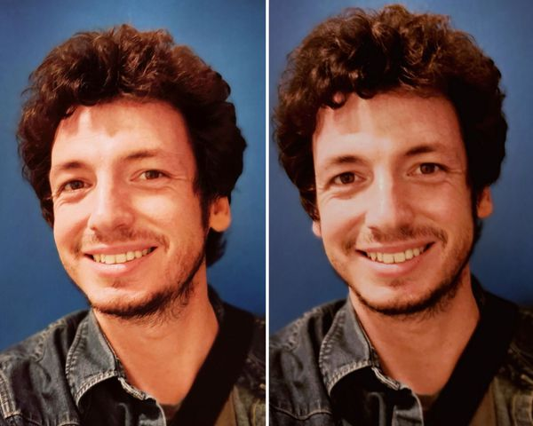 Mes cheveux juste avant le déconfinement : une coupe digne des 1970's