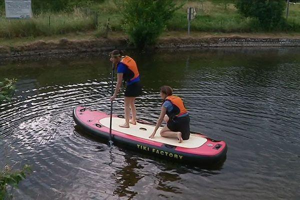 Découvrir le canal du Nivernais en paddle