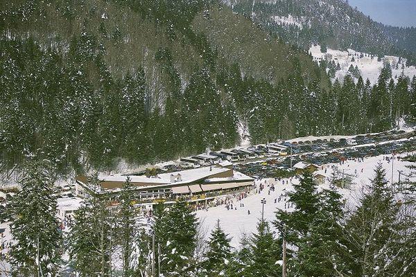 La station de La Bresse.