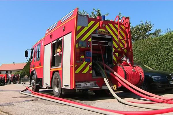 Les pompiers des Vosges sont intervenus sur un incendie à Deyvillers