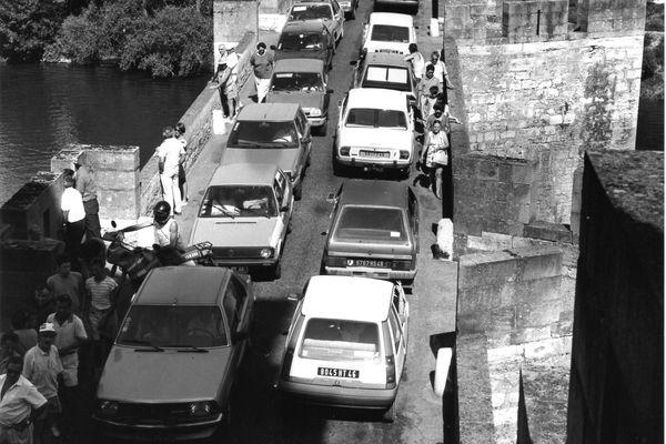 Les bouchons de Cahors ne datent pas d'hier : à une époque, il fallait même franchir le Pont Valentré.