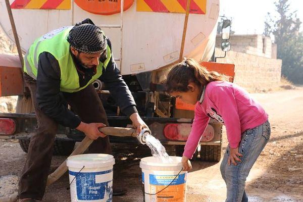 Le comsyr aux côtés des réfugiés syriens