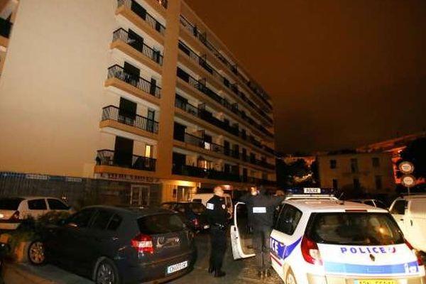 22/10/13 - Tentative homicide dans un résidence des quartiers sud de Bastia
