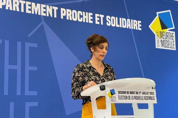 Chaynesse Khirouni, la nouvelle présidente du Conseil départemental de Meurthe-et-Moselle