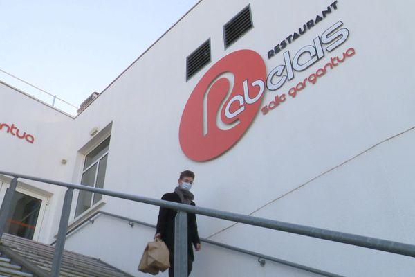 """Restaurant universitaire """"Le Rabelais"""" à Poitiers"""