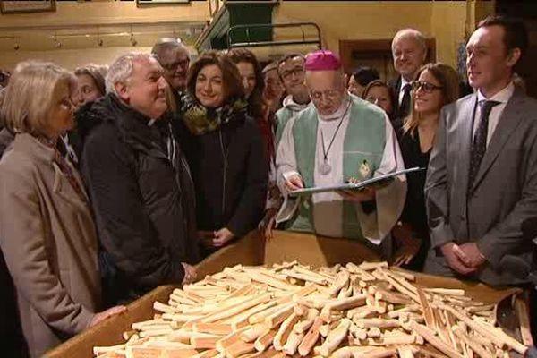 La traditionnelle bénédiction des navettes, à Marseille