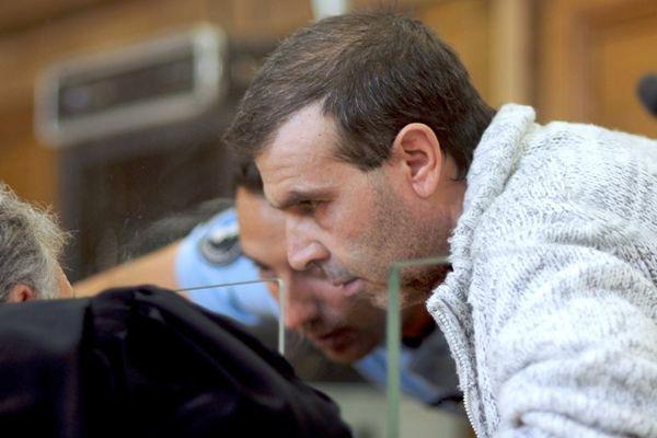 Jean-Pierre Mura au 7ème et dernier jour de son procès à Chalon-sur-Saône, le 18 juin 2015.