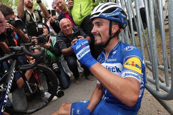 Le cycliste Montluçonnais victorieux pour la seconde fois sur la Flèche Wallonnne
