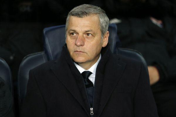 Bruno Génésio, nouveau visage au Stade Rennais. L'ancien de l'Olympic Lyonnais a signé jusqu'en juin 2023 comme entraîneur. Il succède à Julien Stéphan.