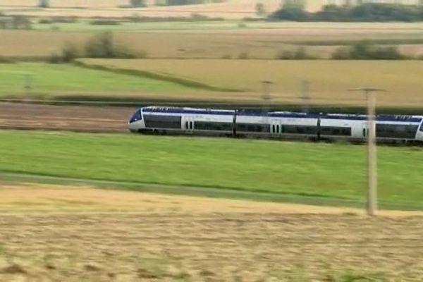 Un TER Auvergne.