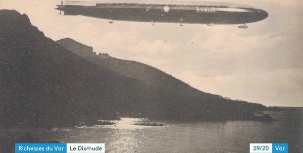 Lors d'une mission d'étude des conditions aériennes qu'il effectue le 1er décembre 1923, le Dixmude il est touché par la foudre et explose au large de la Sicile faisant 50 morts