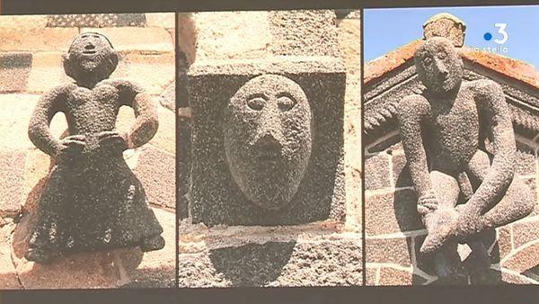 Lever les yeux, pour découvrir un patrimoine médiéval riche