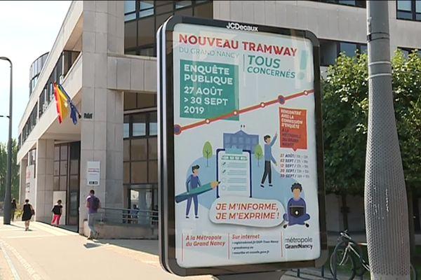 Les usagers ont un mois pour donner leur avis sur le projet du tram de Nancy